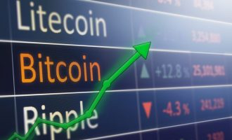 Cryptocurrencies Rebound on Positive Risk Mood