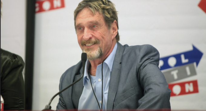 John McAfee Will Launch a Private Crypto on May 25th