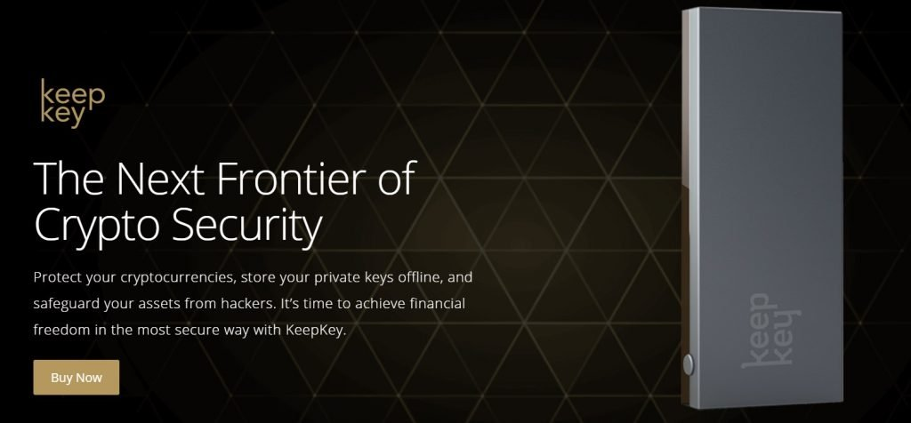 KeepKey security