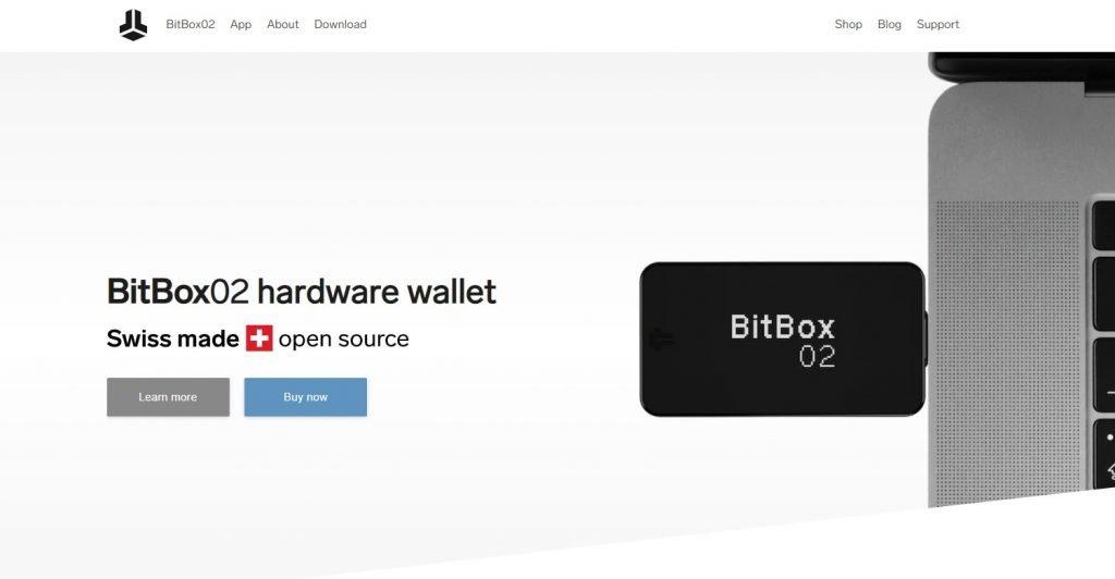 BitBox02 wallet