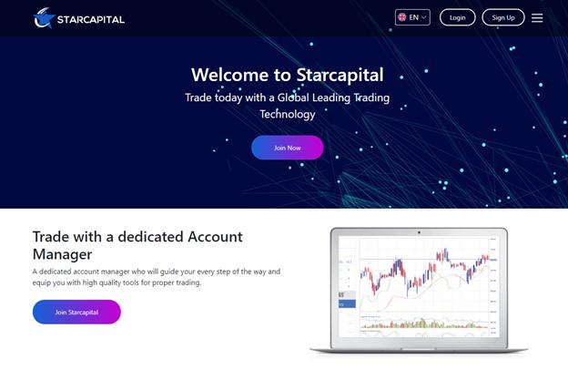 Starcapital crypto trading services