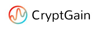 CryptGain brand logo