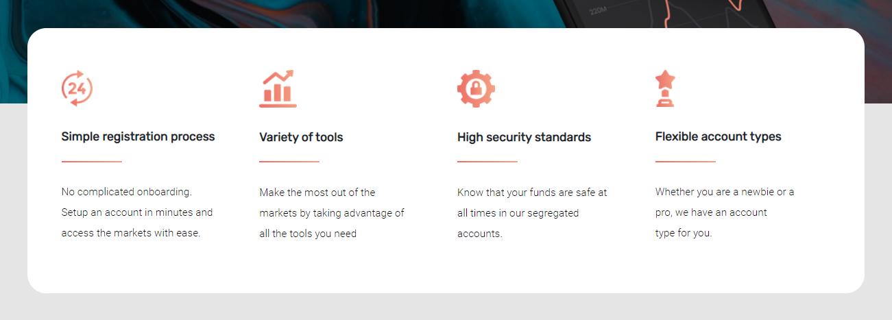 CryptGain main trading benefits